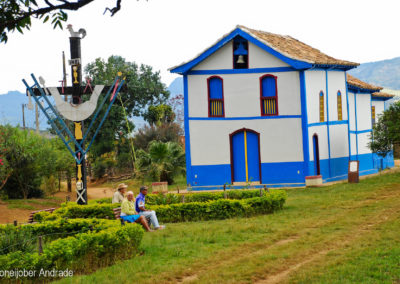 Prosas em frente à Capela de São José